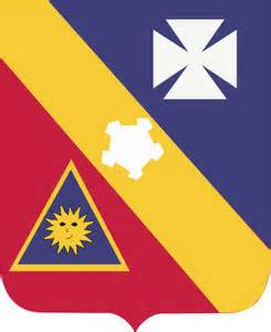 Red, Yellow, Blue Shield