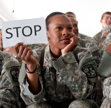 U.S. Army photo by Heather Cortright.
